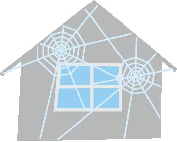 クモの巣ハウス